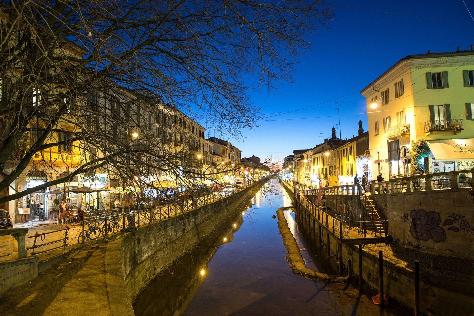 Navigli Milan travel guide