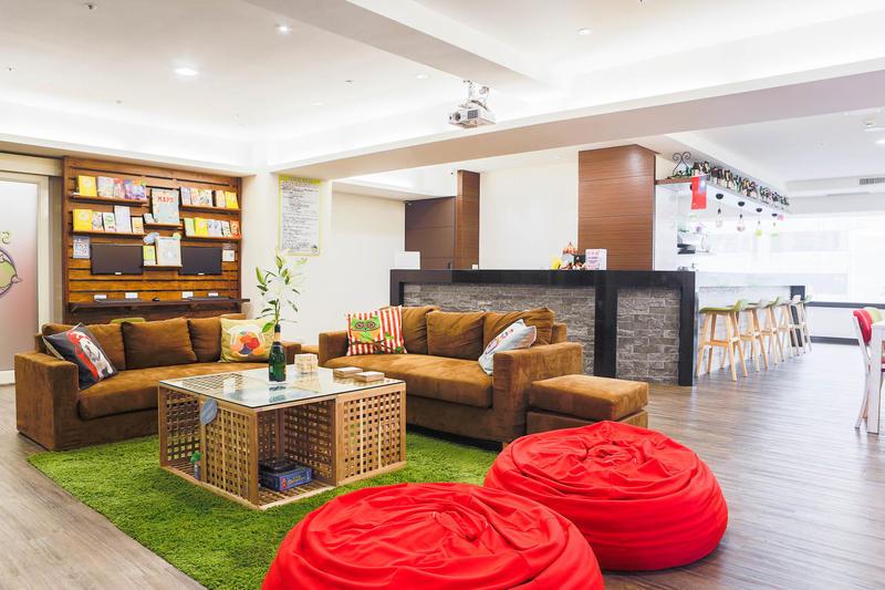 Sleepy Dragon best hostels in Taipei