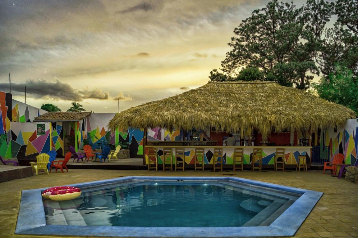 Surfing Donkey best hostels in Granada, Nicaragua