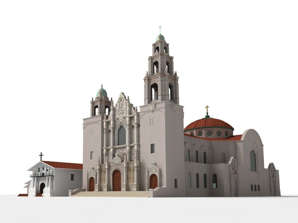 A model church in The Mission, San Francisco