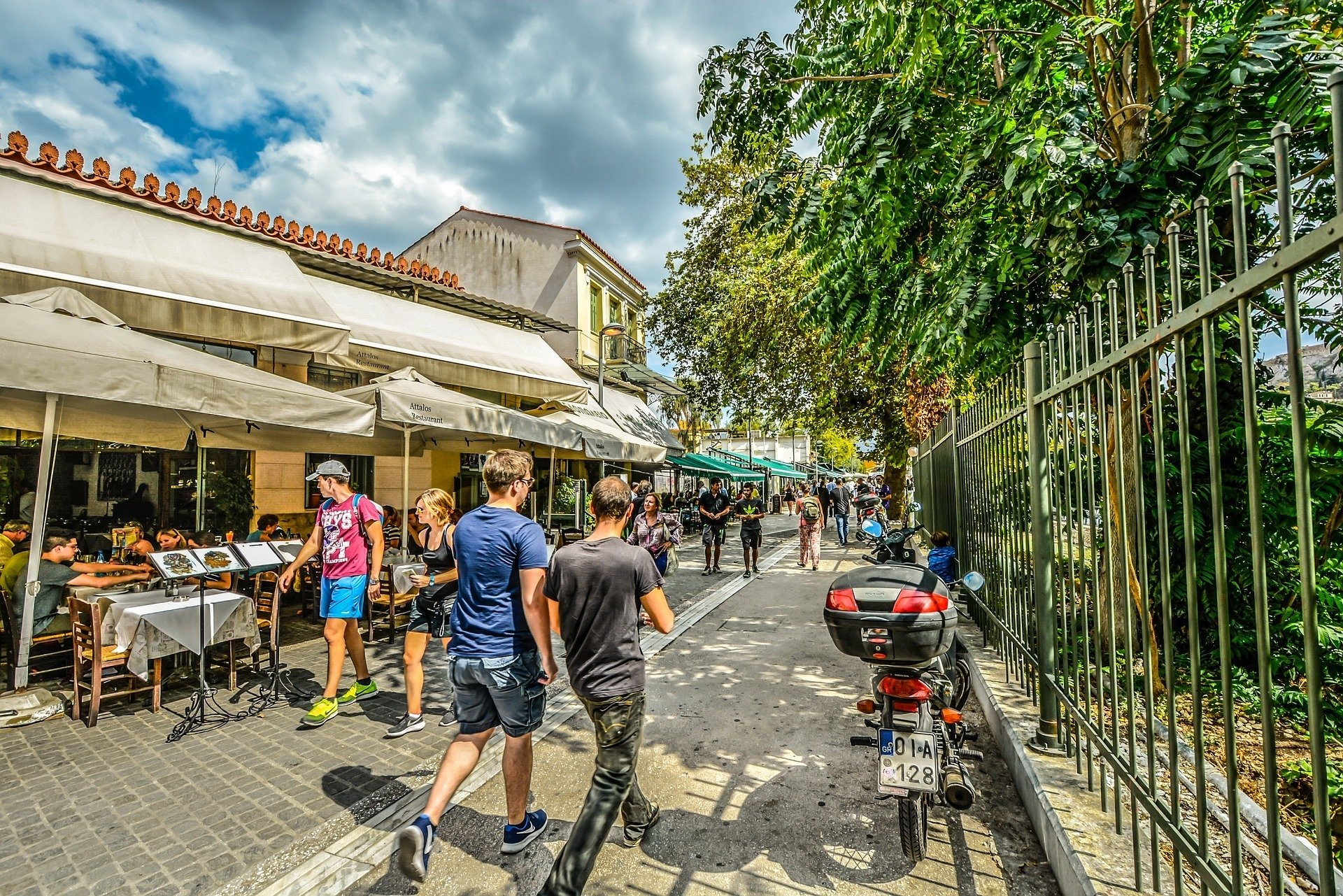 When looking where to stay in Athens, Plaka is our favorite!