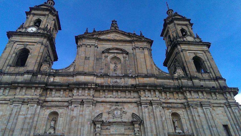 Cathedral in Simon Bolivia Plaza