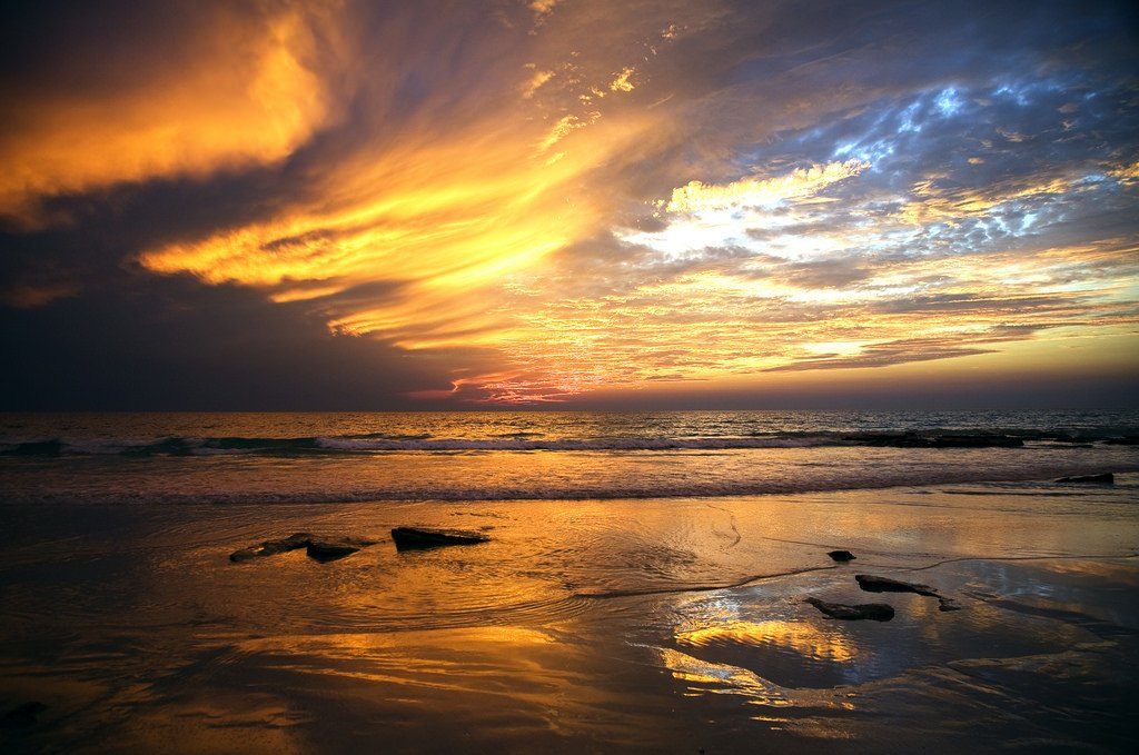 cable beach broome sunset australia