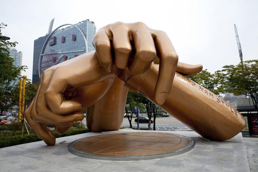 Gangnam - best neighborhood in Seoul for newcomers