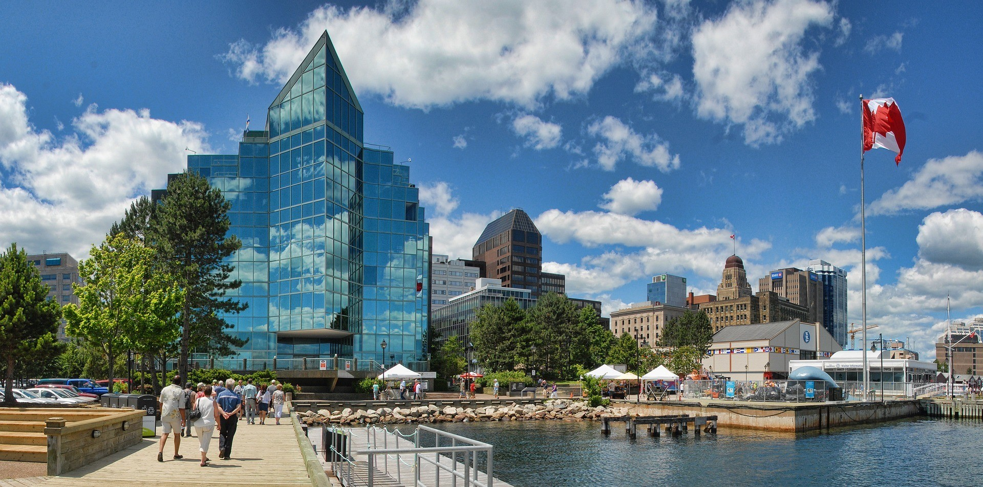 cityscape of halifax nova scotia canada