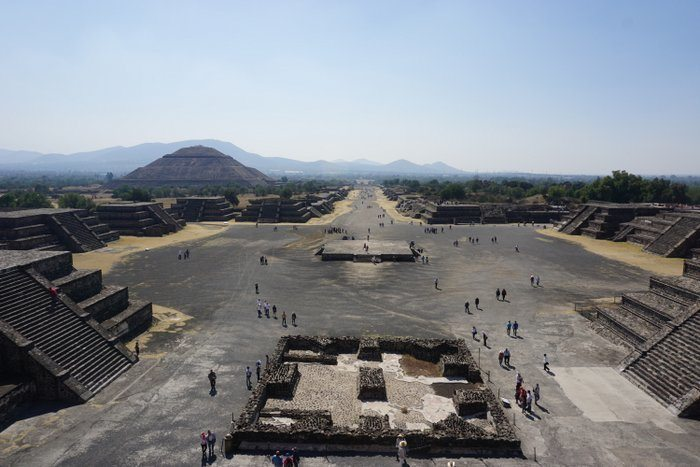 Teotihuacan Ruins Mexico