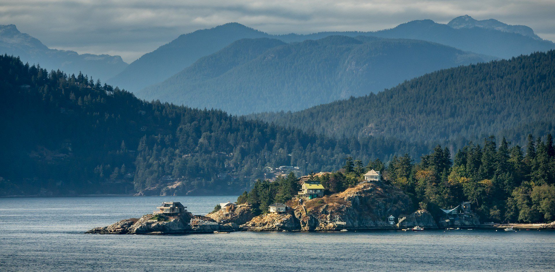 The scenery of Vancouver Island.