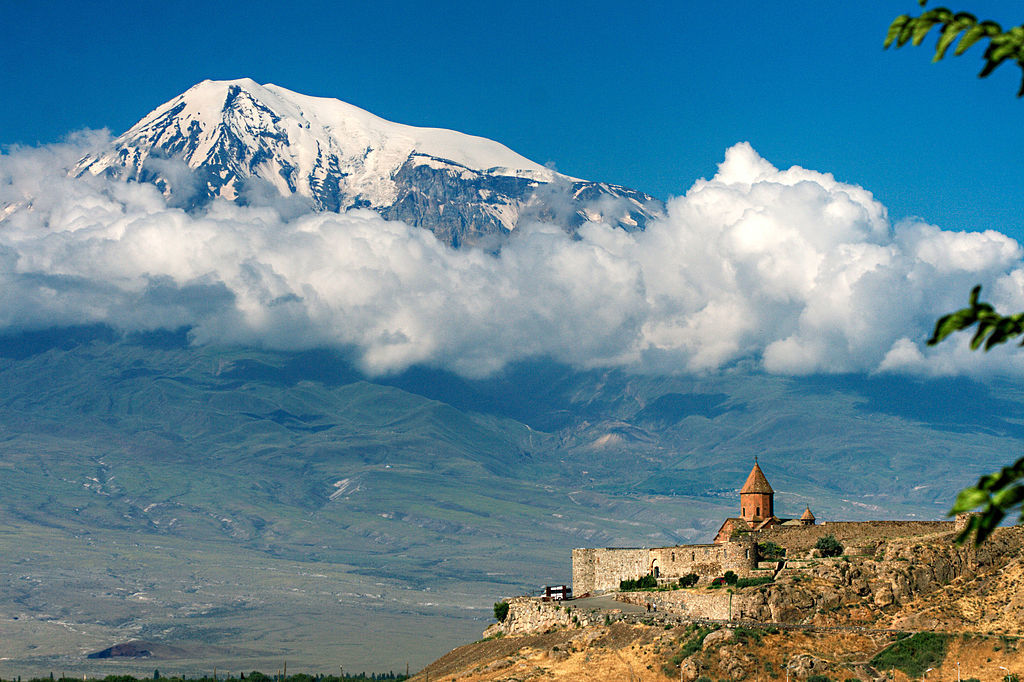 Ararat - as seen from the Armenian side.