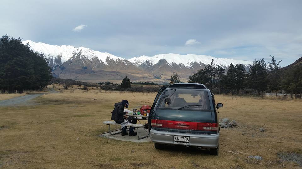 campervanning in NZ
