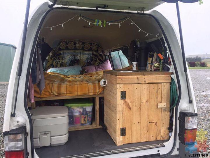Van or car camping means you have a portable home