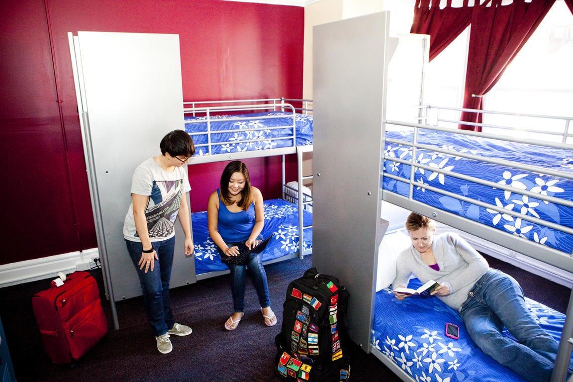 Dorms of USA Hostels San Francisco.