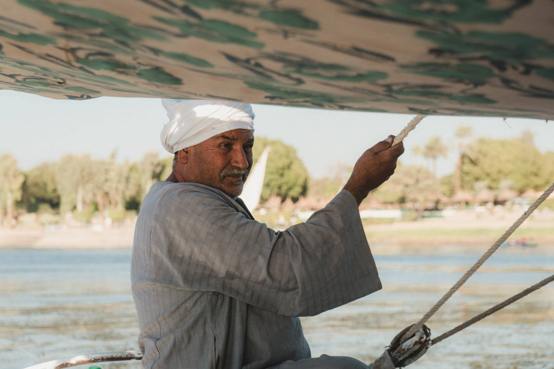 Nile River Felucca Captain