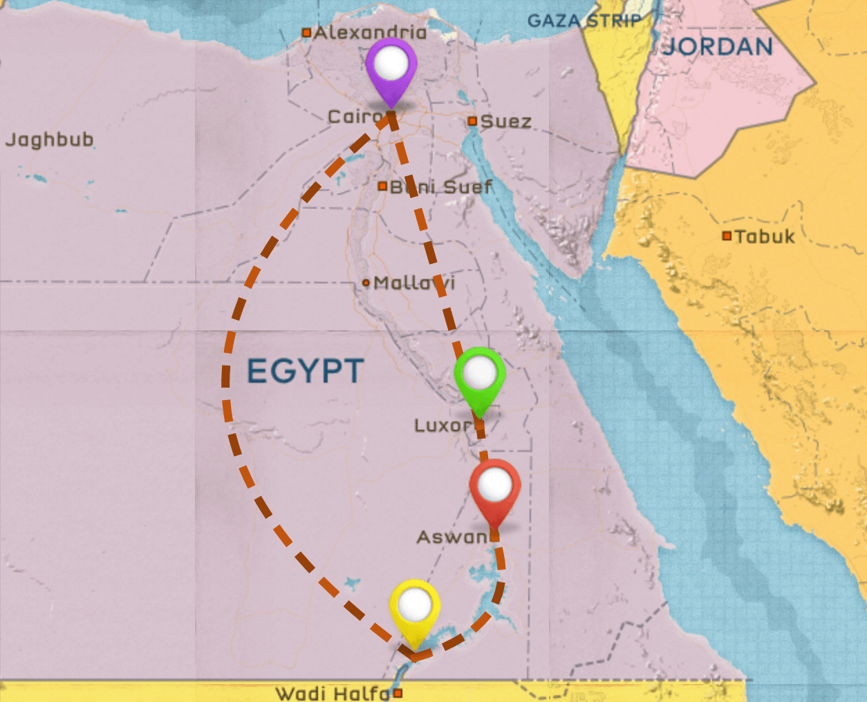 Egypt Itinerary #1