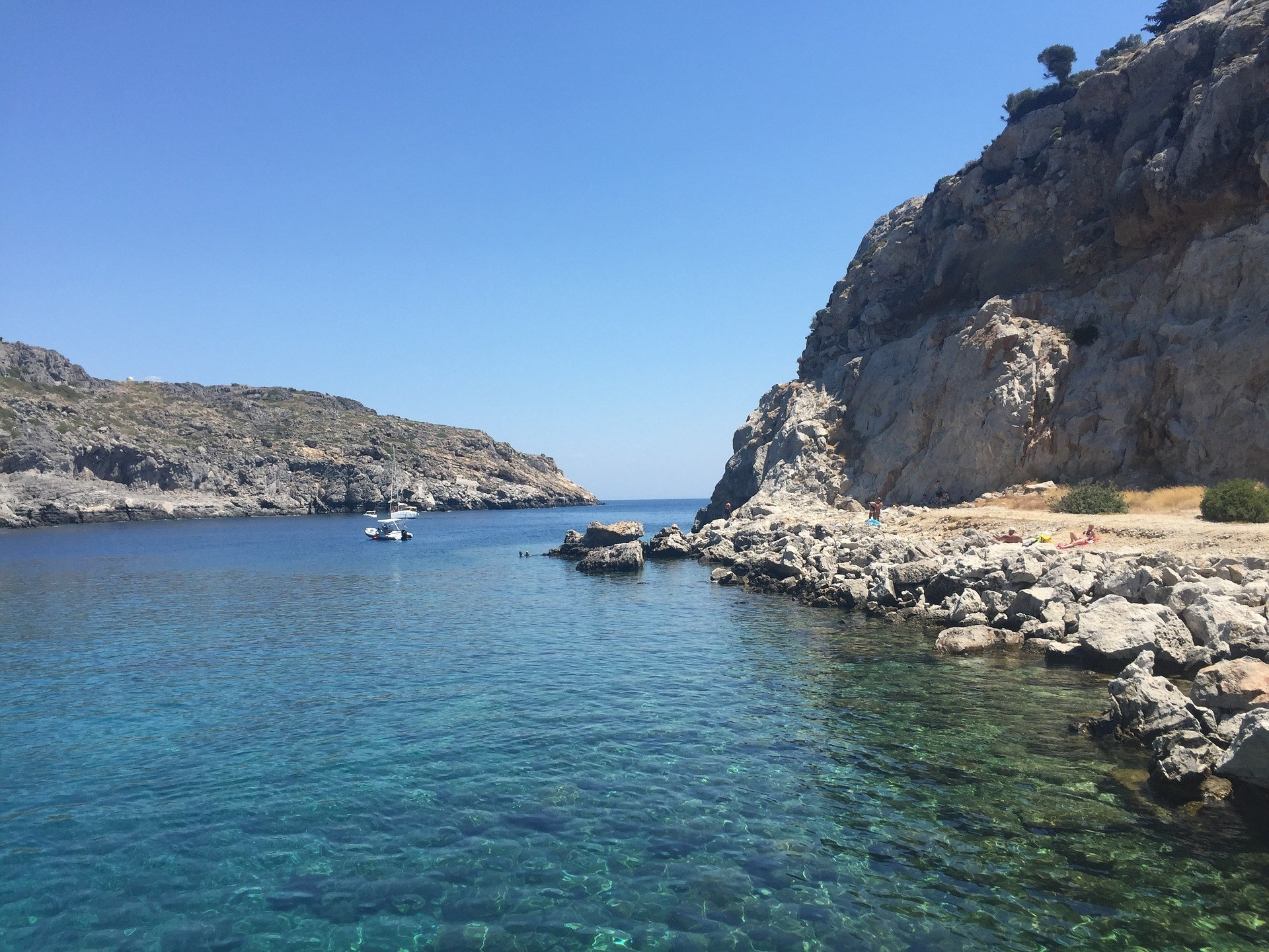 Beach at Faliraki - Where to Stay in Rhodes for Nightlife