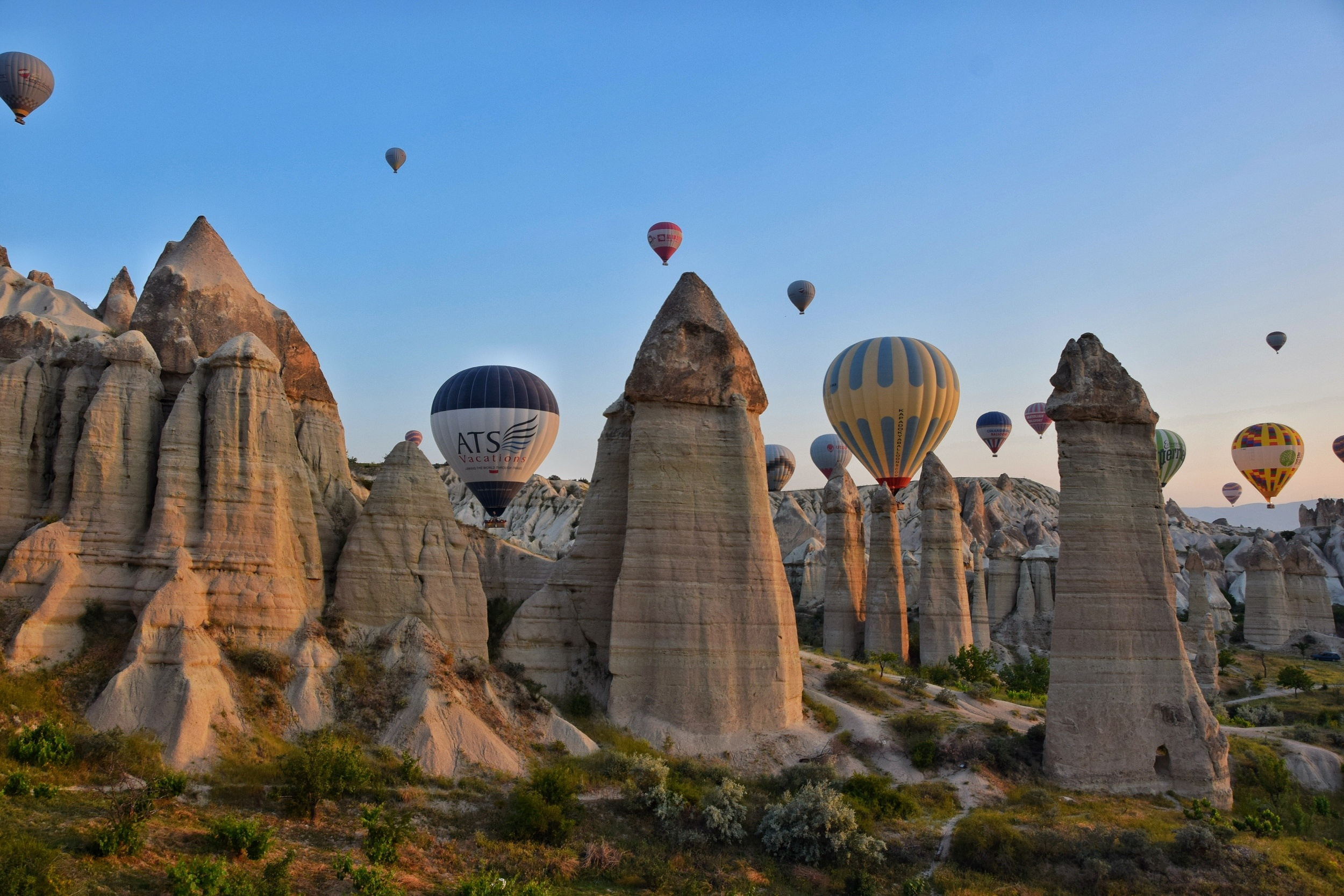 Backpacking Cappadocia