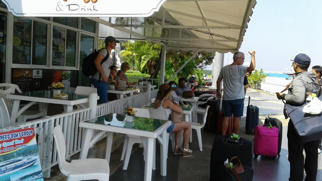 Marina House Boat best hostels in Krabi