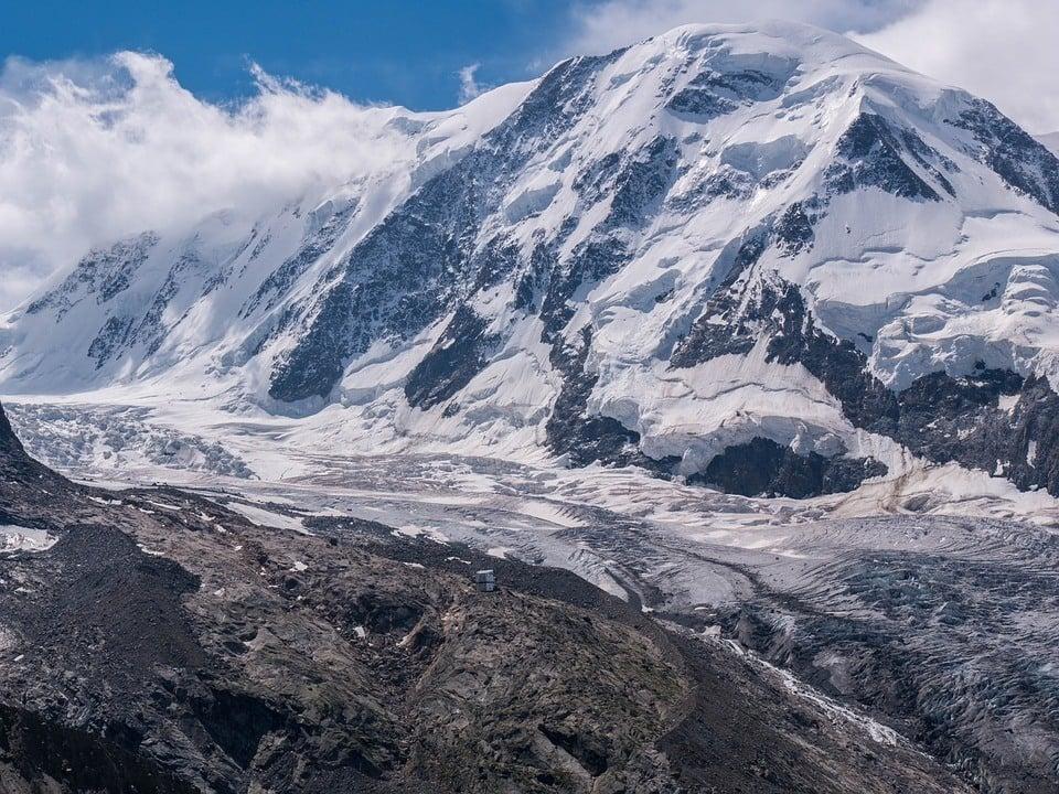 Monte Rosa Hut Monterosa Glacier