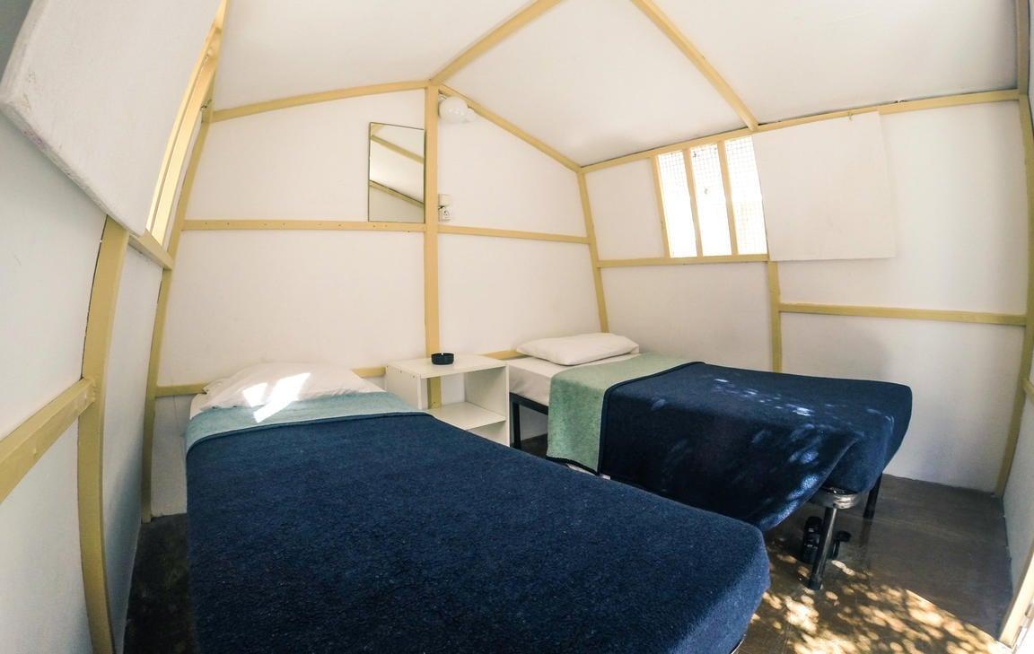 Paradise Beach Camping best hostels in Mykonos