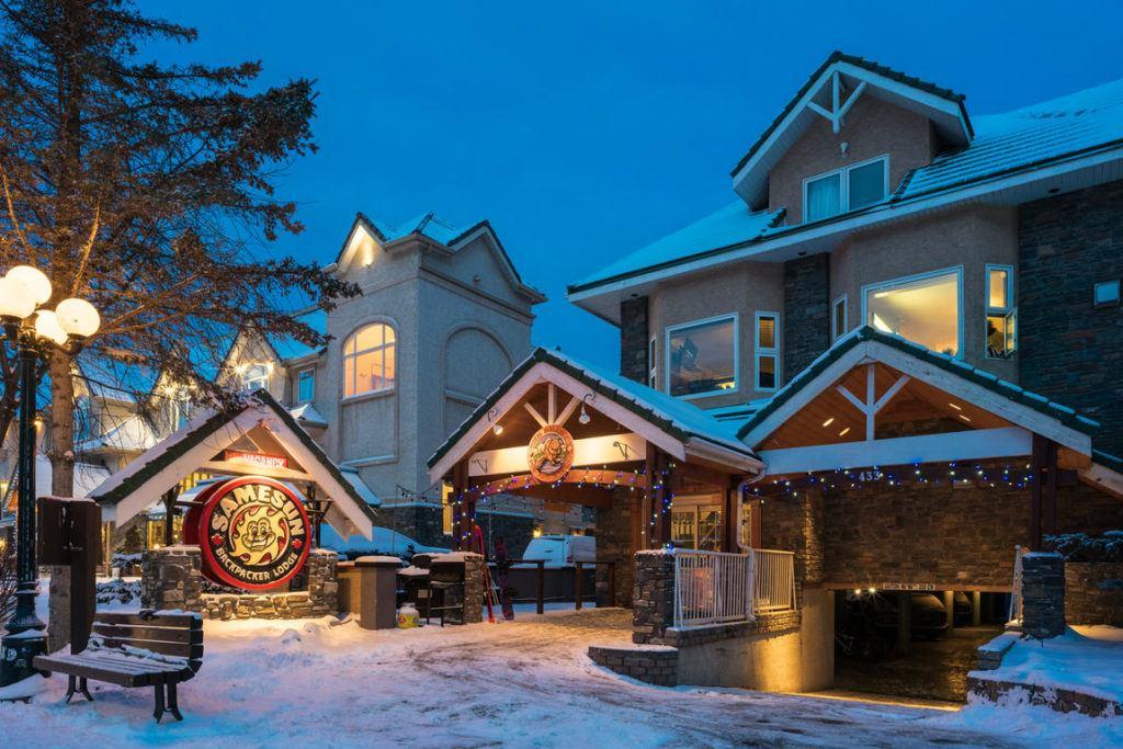 Samesun Banff best hostels in Banff