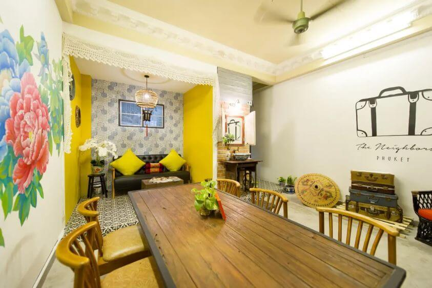best hostel for solo travellers in Phuket