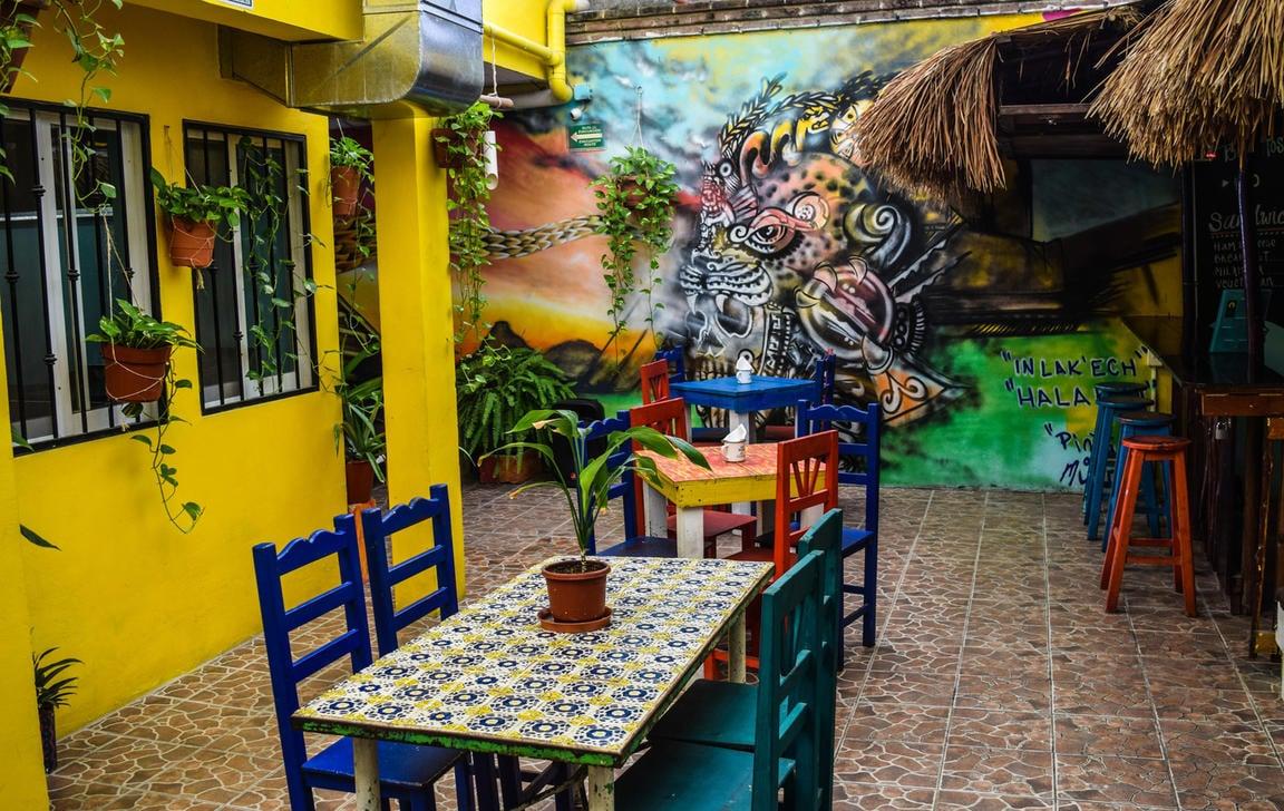 Tres Mundos Hostel best hostels in Playa Del Carmen