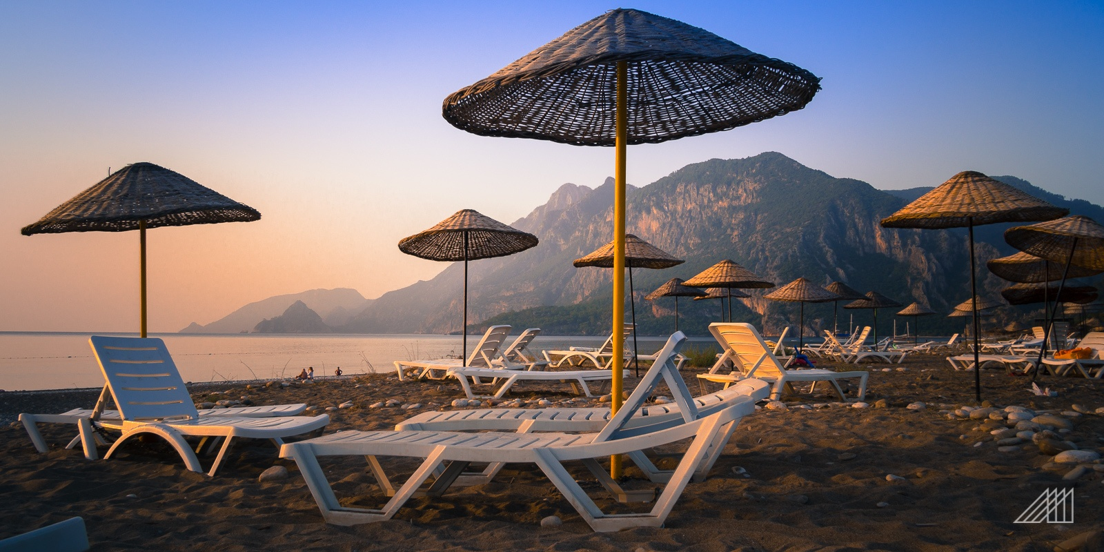 sunrise olympos beach turkey