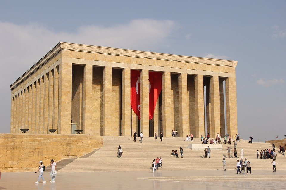 Anitkabir Monument in ankara turkey