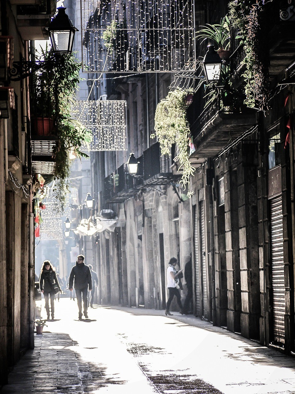 barri Gothic in Barcelona