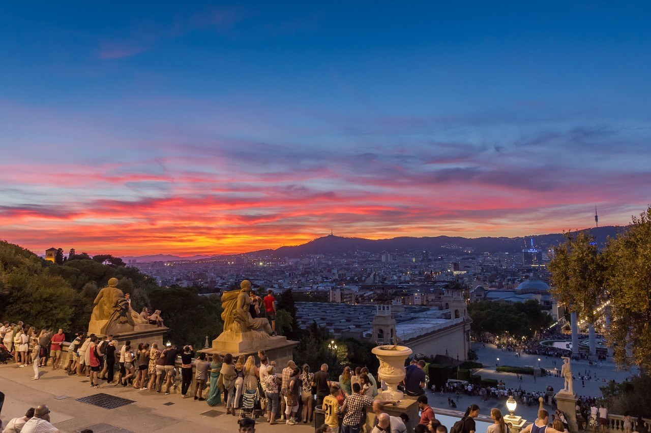 best places to watch sunset in Barcelona