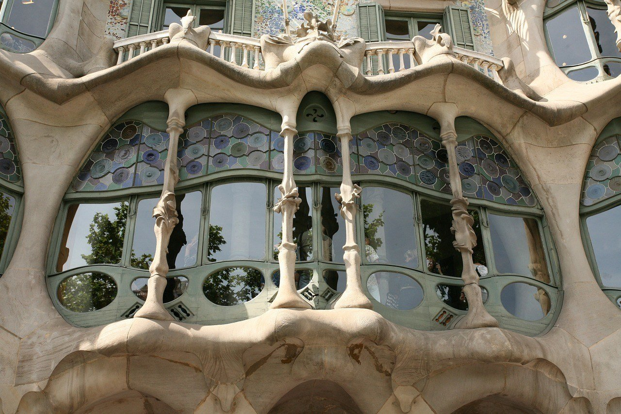 Where to see Gaudi's work in Barcelona