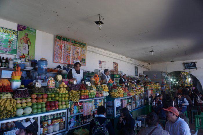 A Bolivian Market