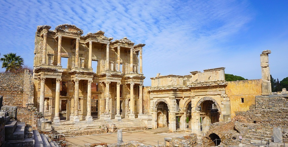The Library of Celsus ephesus turkey