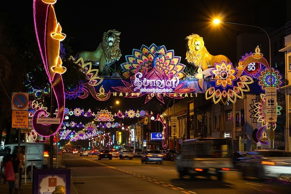 Diwali - festivals to see while travelling in Malaysia