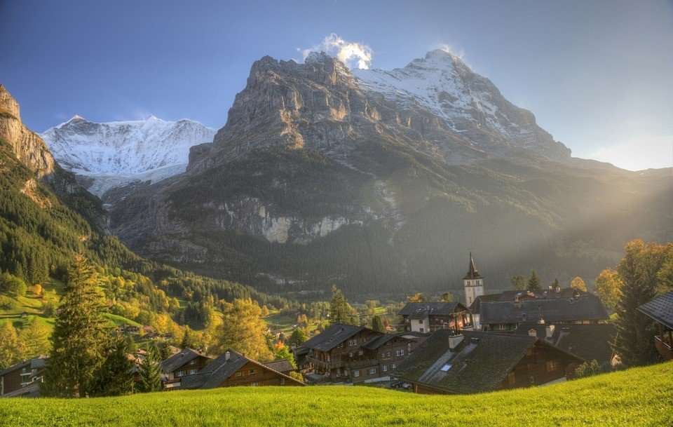 eiger-bernese oberland backpacking swiss alps