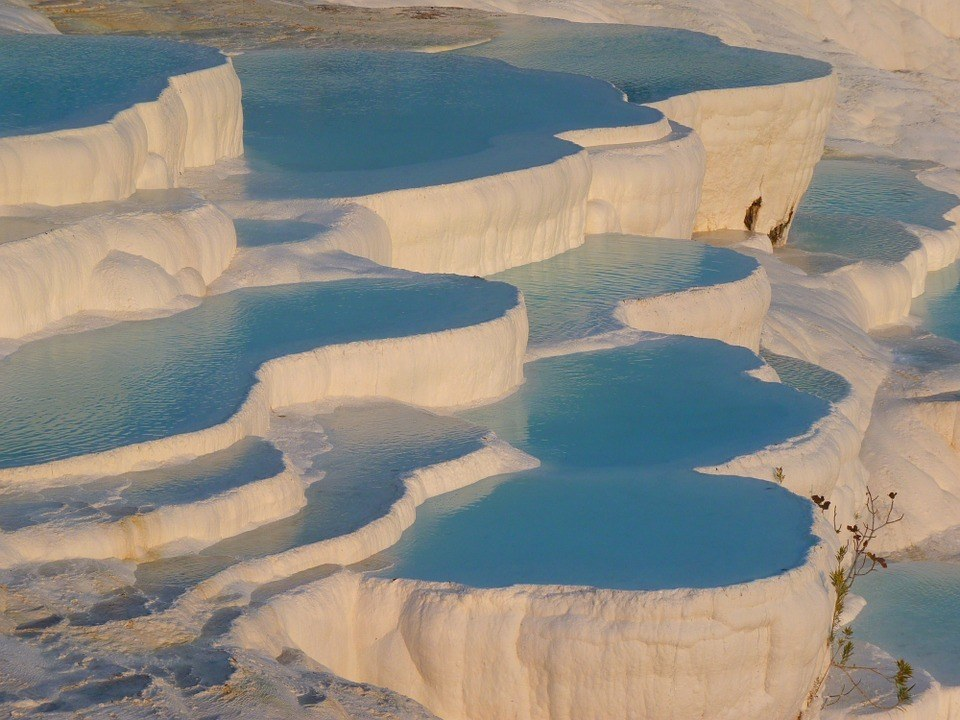 The heavenly travertines pamukkale