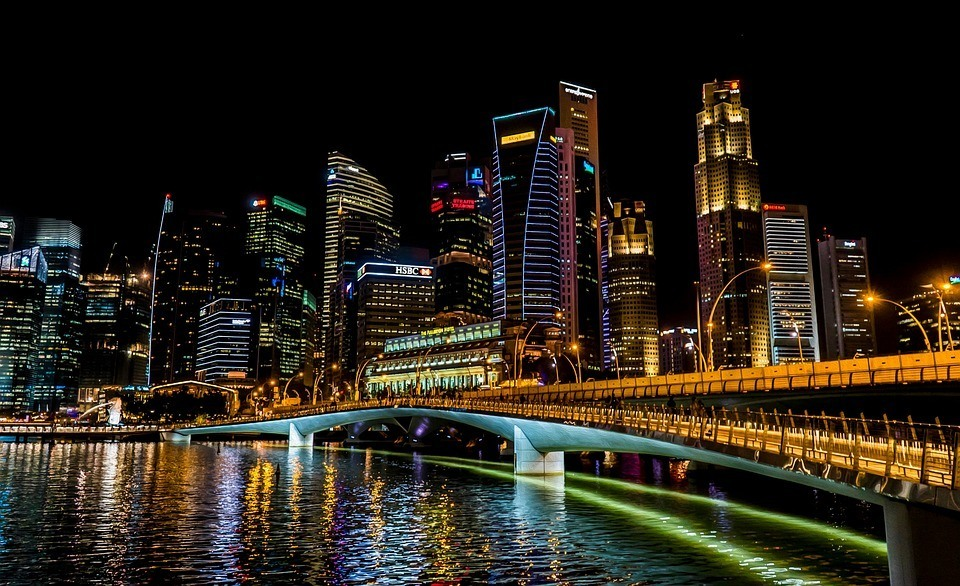 singapore-nightscape