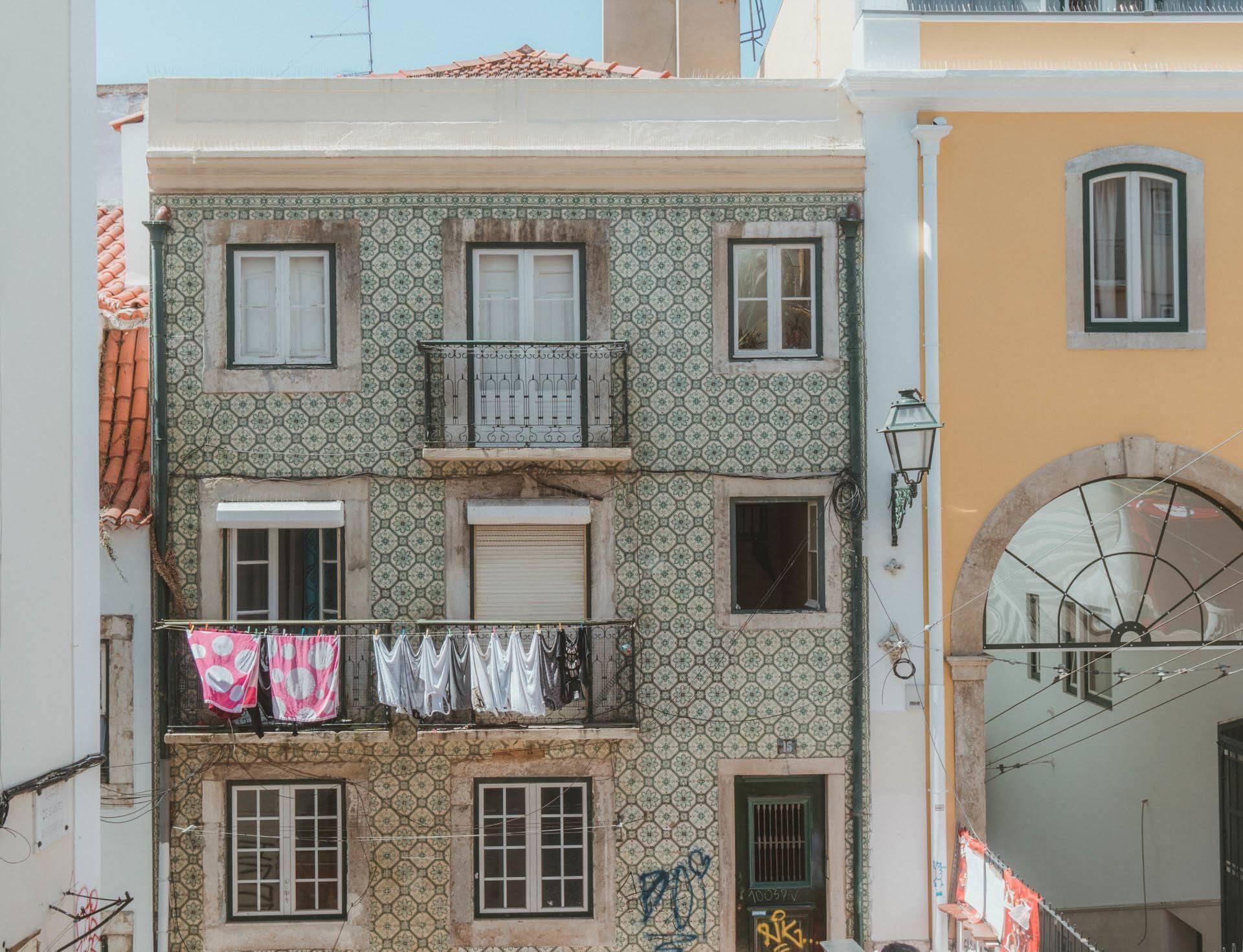 Backpacking Lisbon Views