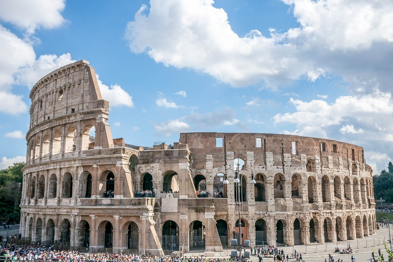 The Colosseum - things to do in Rome