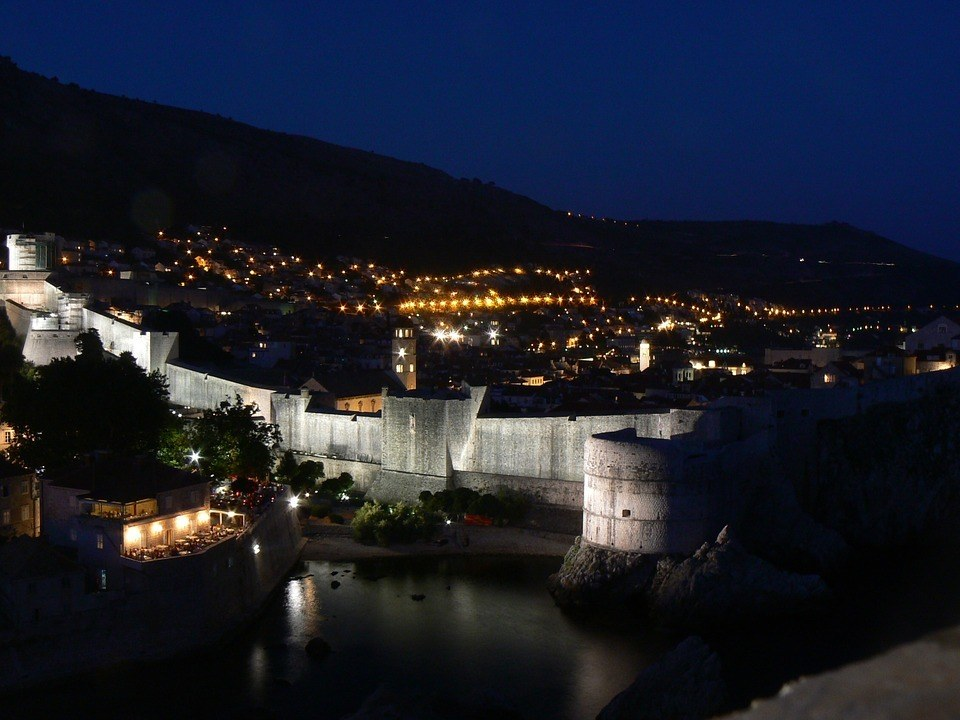 Old Town Night Life, Dubrovnik