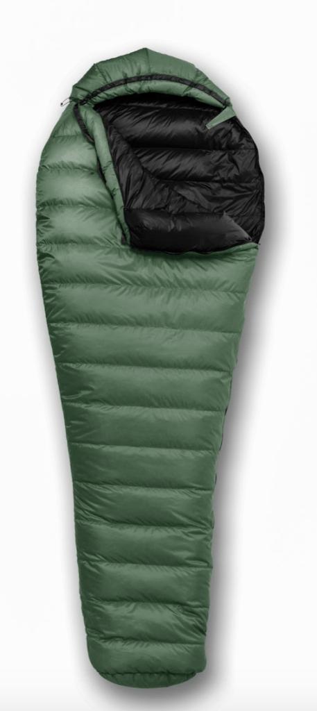 feathered friend backpacking sleeping bag