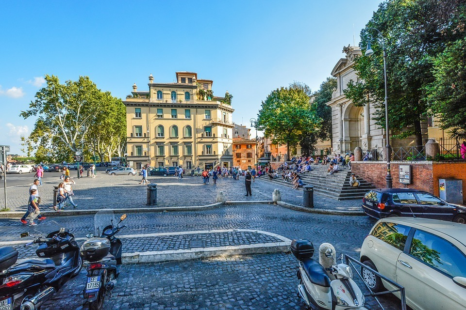 Trastevere - where to stay in Rome for nightlife