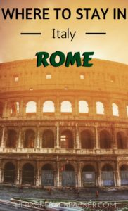 Where to Stay in Rome PIN