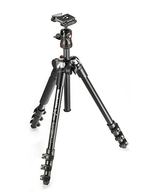 manfrotto befree best travel tripod
