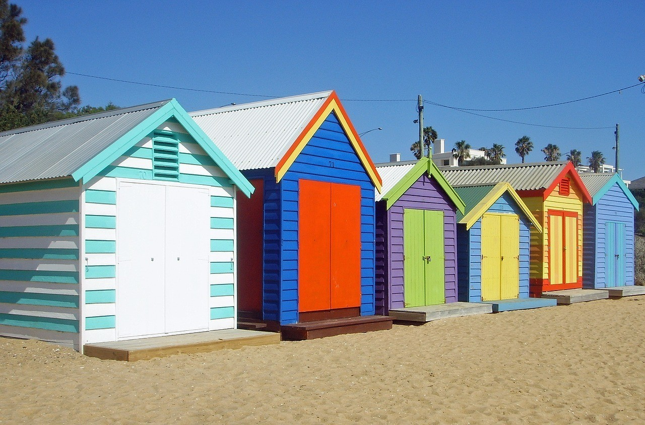 brighton-bath-houses-melbourne-652622_1280