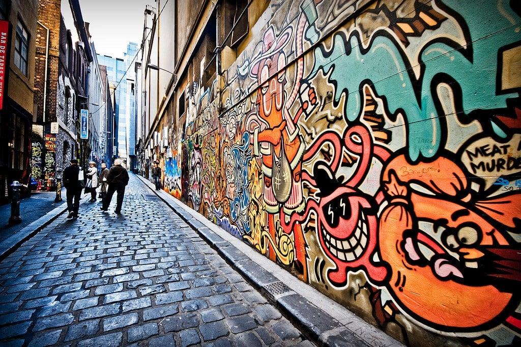 melbourne-street-art-hosier-lane-PROFernando de Sousa-flickr
