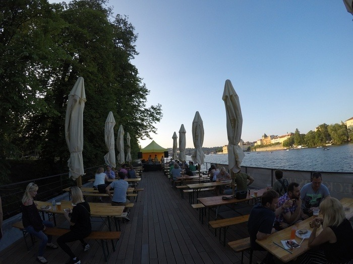 Prague Boat Bars