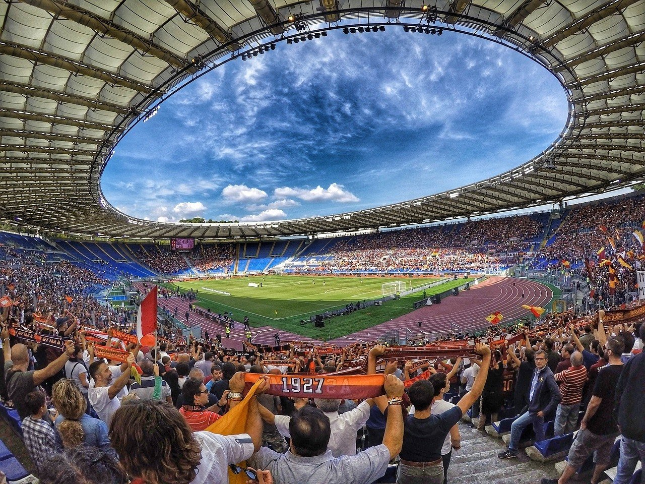 action camera stadium