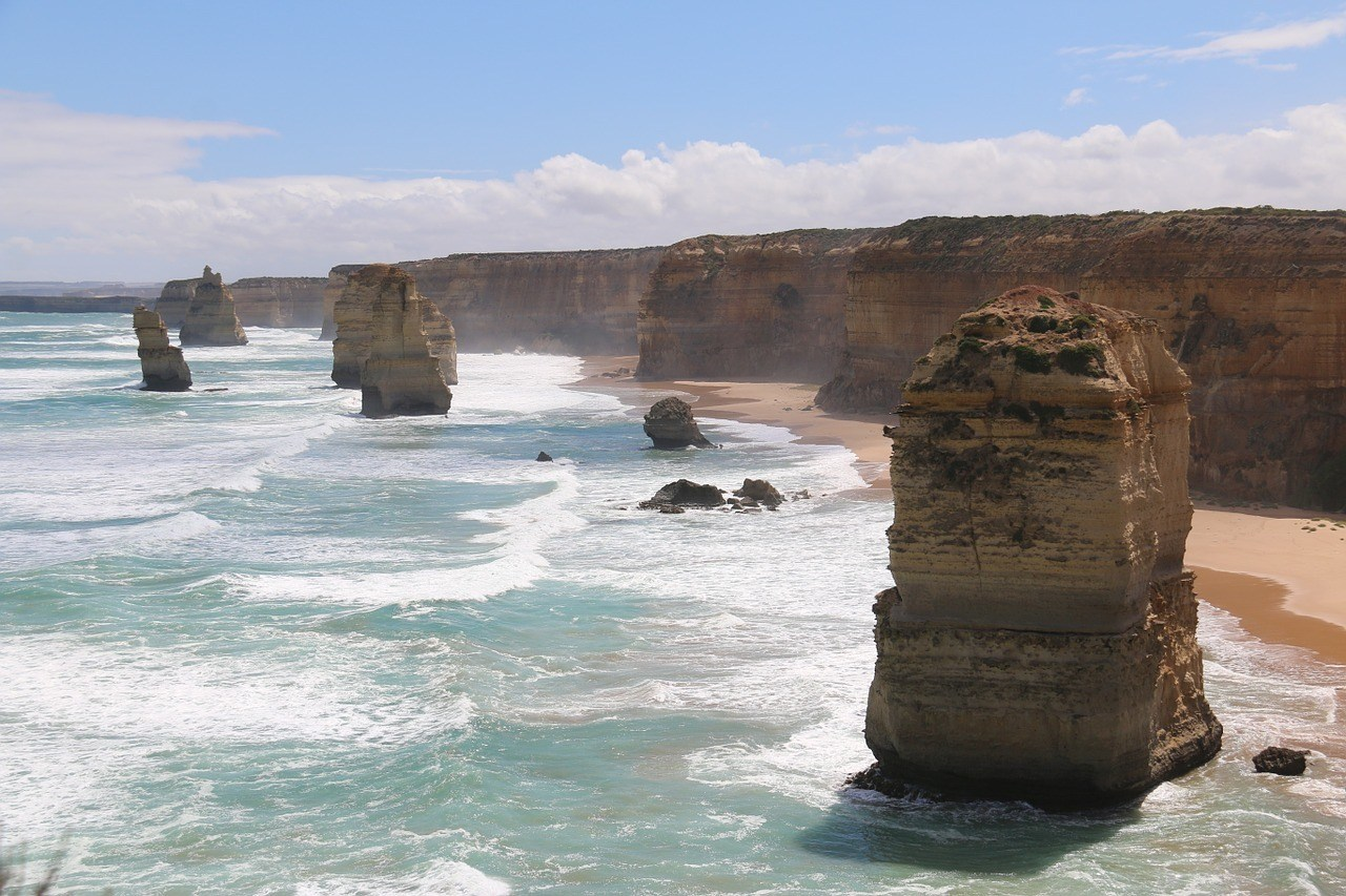 The Twelve Apostles of the Great Ocean Road.