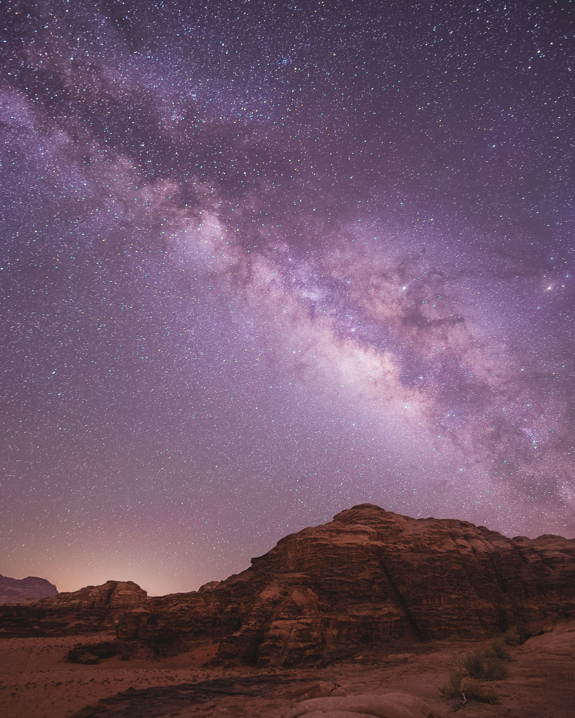 wadi rum stars best travel tripod
