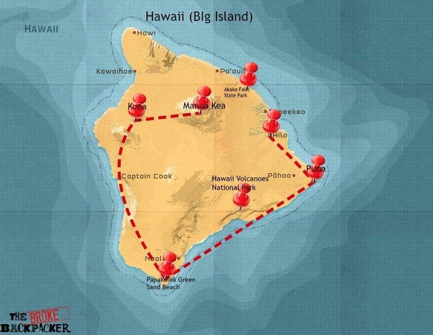 hawaii itinerary 14 days